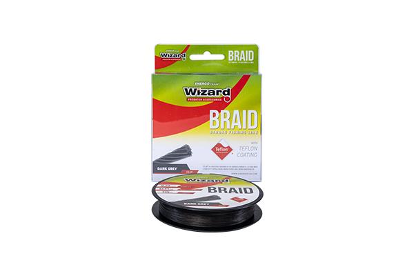 WIZARD BRAID GREY