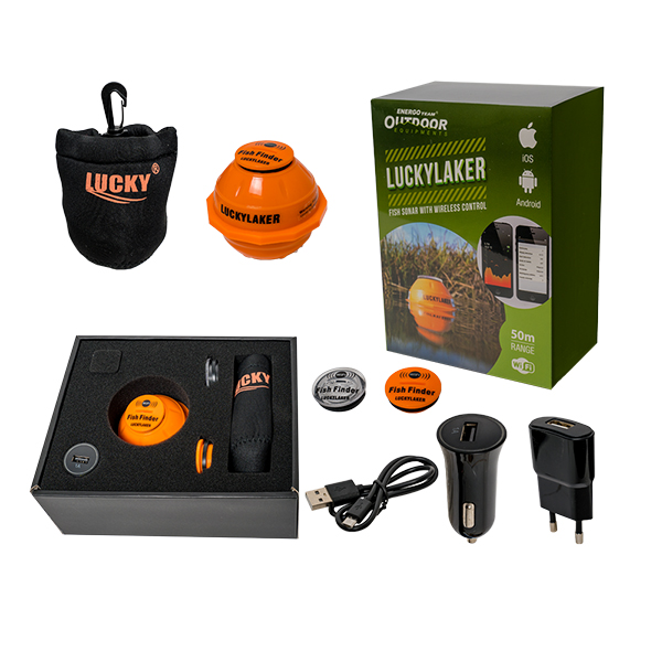ET OUTDOOR WIFI SMART FISH FINDER
